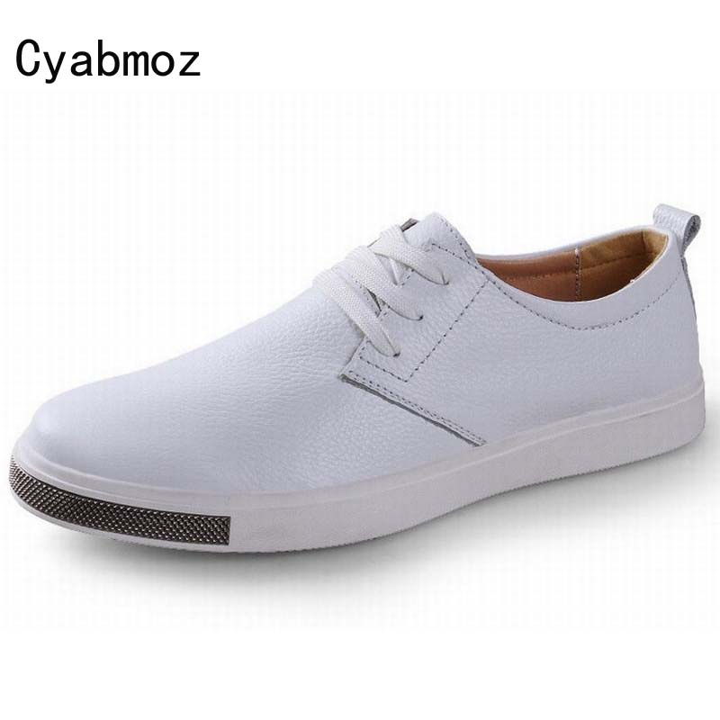 New Arrival High Quality Men Flats Shoes Breathable Fashion Men Casual Shoes Soft Genuine Leather Zapatos Hombre Man Comfortable чайник электрический scarlett sc ek18p23
