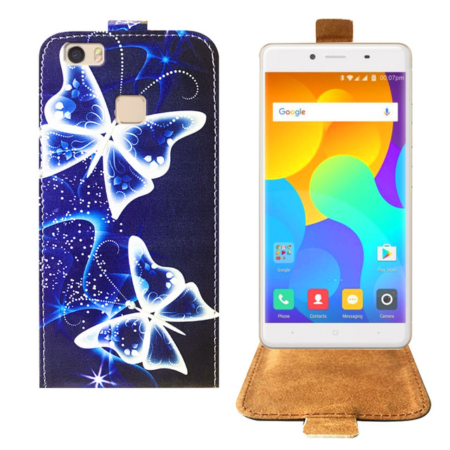 info for bb50a 5eab3 US $3.74 25% OFF|Newest Cartoon Painting PU Leather Back Cover Flip Case  For Micromax Yu Yureka 2 Case Cover 5.5