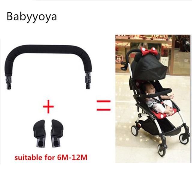 Bumper Bar With Adapter Armrest For Stroller Yuya Cart Babyzen YOYO Similar Baby Throne Horizon Installation