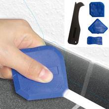4 шт. Герметик силиконовый Затирка набор инструментов для удаления скребка аппликатор