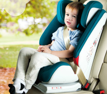 Fashional popular child safety seat for 9 months -12 years old baby use