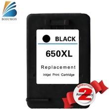 Bosumon заменяемая картридж для HP 650 XL черный картридж для HP Deskjet 1015 1515 2515 2545 2645 3515 4645.