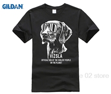 GILDAN Vizsla Shirt Official Dog of the Coolest People Hot men's T-shirt