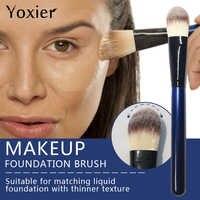 Yoxier Marca De Alta Qualidade Eye Foundation Escova Perfil de Asa do Nariz Pincel de Base de Maquiagem Corretivo Em Pó Brush Tool Beleza 1 Pcs