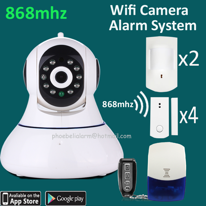 Small Wireless Security Camera System