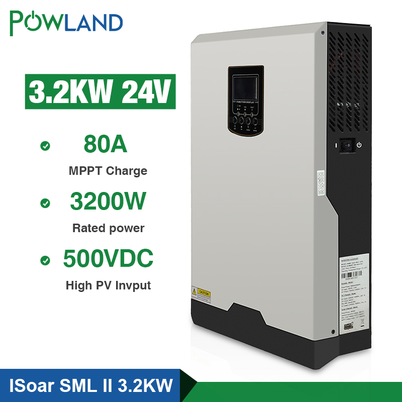 WIFI/GPRS Monitoring Pure Sine Wave Solar Inverter with Wide PV Input Range 2