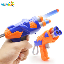 Viciviya ילדים צעצועי רך EVA כדור צעצוע אקדח עבור N strike Bullet הטלת חיצים עגול ראש Blasters EP ילדים צעצועים חינוכיים רובים