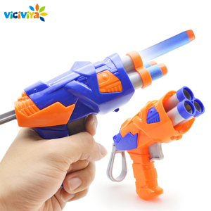 Image 1 - Viciviya ילדים צעצועי רך EVA כדור צעצוע אקדח עבור N strike Bullet הטלת חיצים עגול ראש Blasters EP ילדים צעצועים חינוכיים רובים