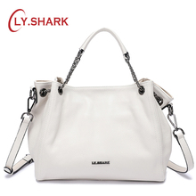 LY.SHARK Bags For Women 2018 Ladies Genuine Leather Handbag Luxury Shoulder Bag Female Crossbody