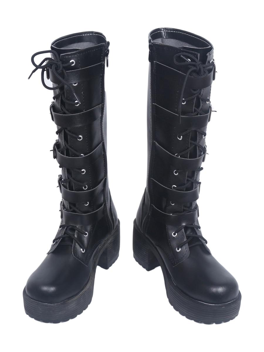 Underworld Blood Wars Female Warrior Selene Cosplay Boots Shoes Custom Made