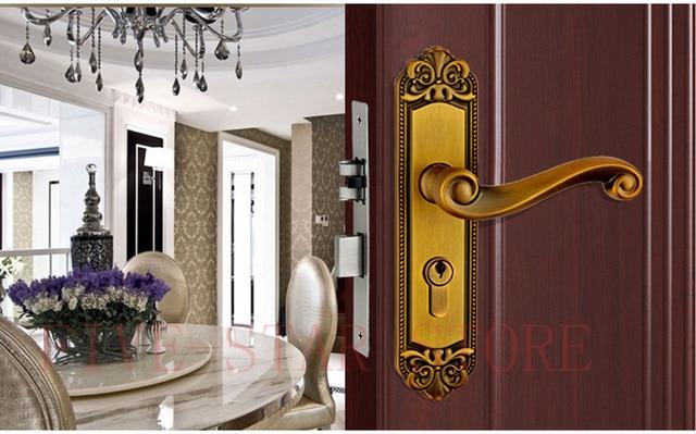 Modern Interior Bathroom Silent Doorlock Mechanical Lock Cylinder