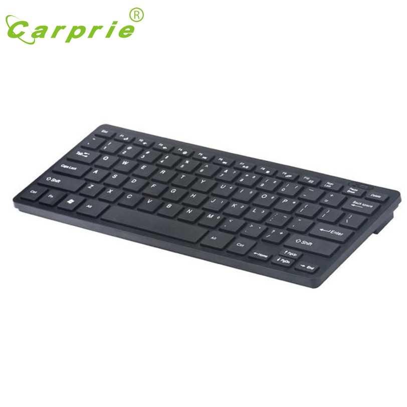 CARPRIE Slim MINI 2.4G ชุดคีย์บอร์ดไร้สายสำหรับ PC แล็ปท็อป Win7/8 20J Drop Shipping