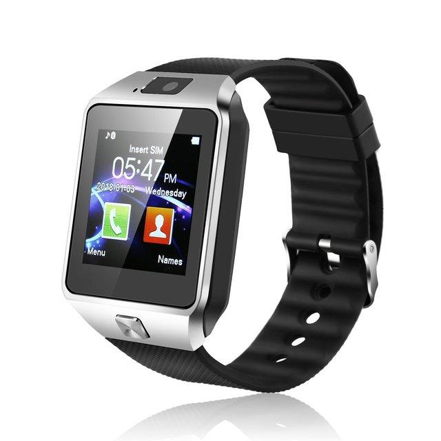 DZ09 Bluetooth Sports Smart Watch for Android Phone Call Relogio 2G GSM SIM TF Card Camera for Dropshipping