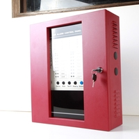 4 Zone Security Alarm Panel Fire Alarm Control Panel For Home School Shop