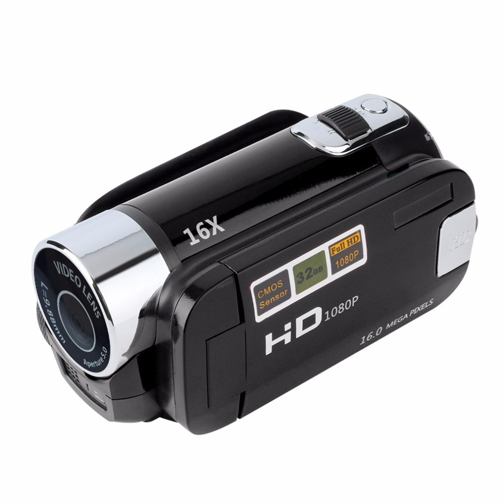 2.7inch Digital Video Camera Camcorder HD 720P 16X Zoom TFT LCD Screen DV Camera COMS Video Recording Support TF Hot Promotion hot sale easy use hd 720p 12m 8x digital zoom video camcorder camera gift for family happy recording 1pc