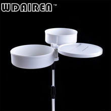 WDAIREN Fishing Pull Bait Bait Tray Insert to Stand Outdoor Magnetic Lure Box Pull The Bait Tray Set Fishing Tackle Boxes EH-025