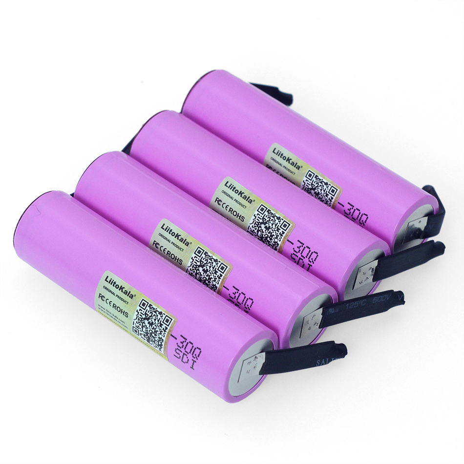 Image 4 - Liitokala 3.7v INR18650 30Q li lon Rechargeable battery 3000mAh 30q laptop batteries + DIY Nickel-in Replacement Batteries from Consumer Electronics