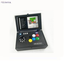 14K Games Recalbox 10 Inch Screen Raspberry Pi 3B+ Video Game Console Portable Mini Arcade Gift Machine for Children pocket mini arcade game 2 inch hd ips lcd raspberry pi 3 32g card recalbox system it need booking and available in 20 days