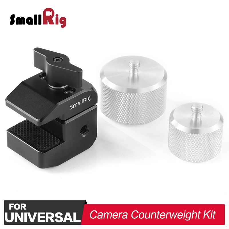 SmallRig BMPCC 4K Camera Counterweight Mounting Clamp for DJI Ronin S and for Zhiyun Weebill Lab
