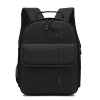 Fashion Backpack Nylon Waterproof Shockproof Bag For Nikon Canon 5D Mark III Cameras Bags Photography Package WML88