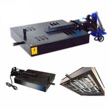 Флэш-сушилка головка многоцветные Экран печатная машина удлинитель с сушилка Экран печатное оборудование высокой точности