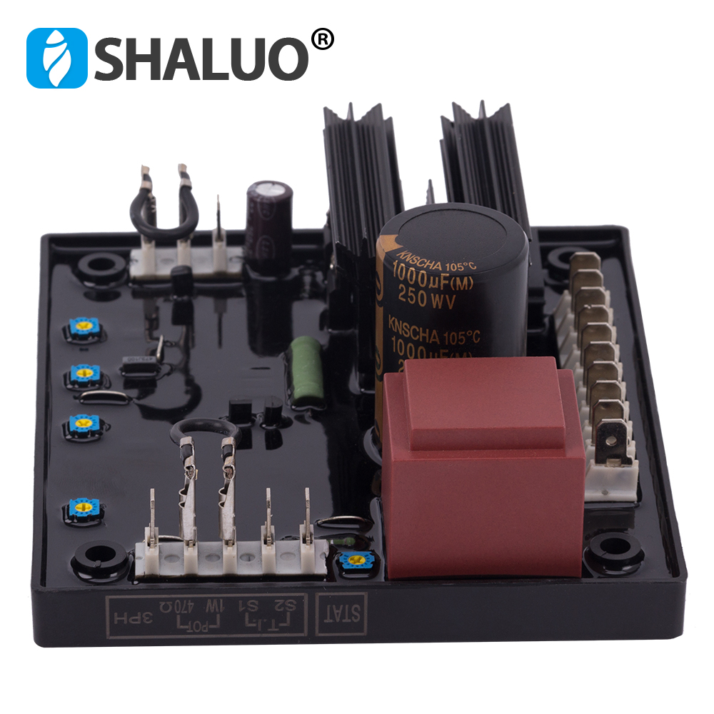 NEW AVR R438 Automatic Voltage Controller Regulator Stabilizer 3phase adjustable current controller for Diesel Generator
