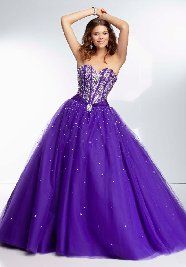Aliexpress.com : Buy Latest Style Dark Purple Quinceanera Dresses ...