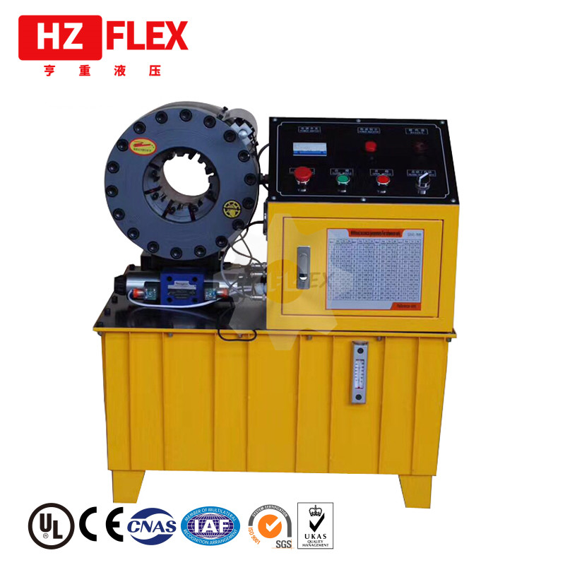 Envío gratis a Mexico solamente DX68 dx69 2 pulgadas manguera hidráulica máquina de prensado