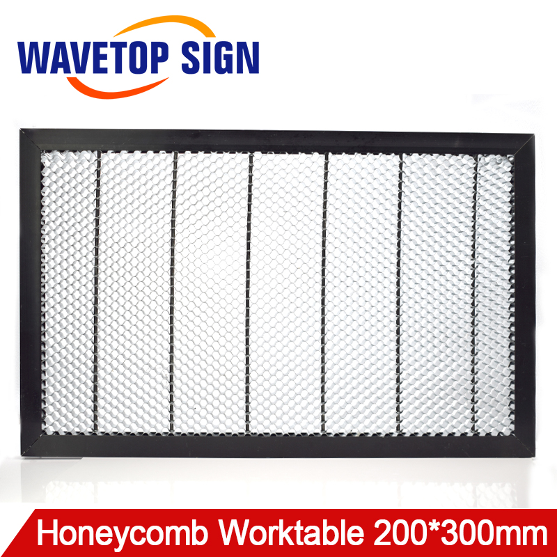 Honeycomb Working Table 300*200 mm Customizable Size Board Platform Laser Parts for CO2 Laser Engraver Cutting Machine honeycomb 300 400 mm laser working platform table for co2 laser engraver and cutting machine