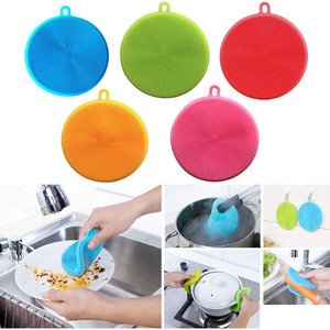 Image 3 - Newly Silicone Wash Dish Brush Multipurpose Antibacterial Cleaning Kitchen Tool 1XSD88