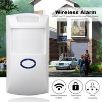 433Mhz Wireless Detector Alarm Home Security PIR MP Alert Infrared Sensor Anti Theft Motion Monitor Wireless