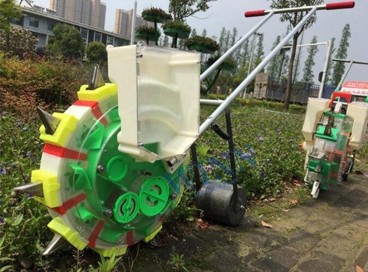 Manual Precision Seeder Planter Machine Hand Push Seeding Machine Peanuts Corn Soybean Seeding Machine Hot Sale