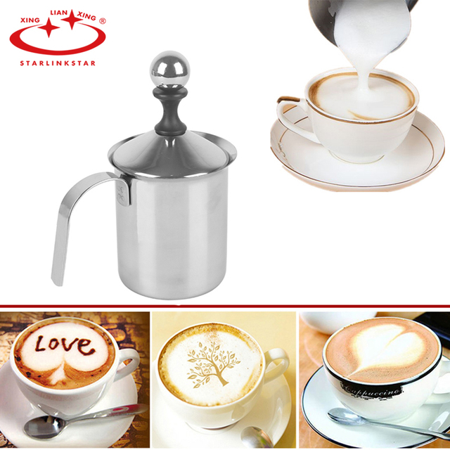 Milk Mesh Creamer Foam Blender Mixer Stainless Steel Kitchen Accessories Cuccino Coffee Making Tools Cake Decoration
