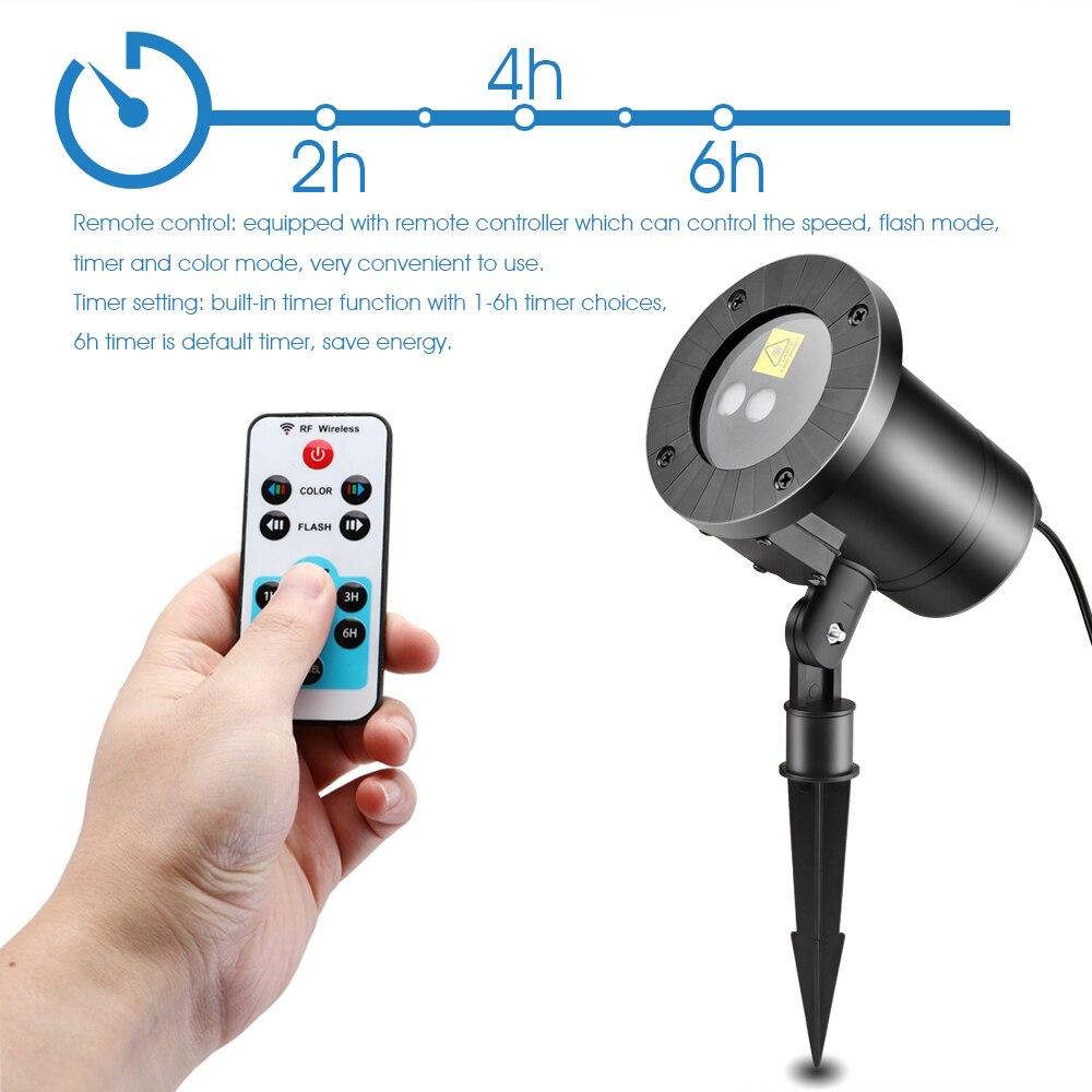 Konesky Waterproof Remote Light Projector Stage Light Moving Head ...
