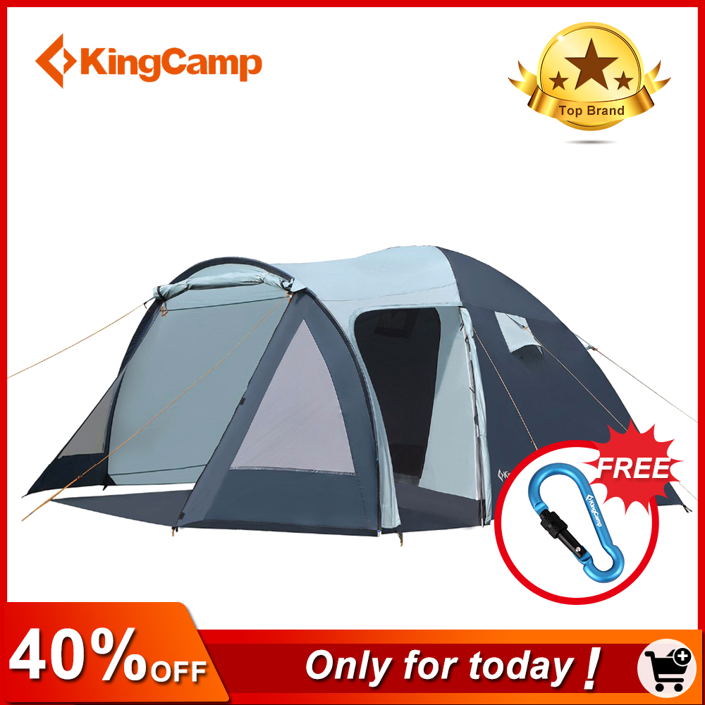 Outdoor, Tent, KingCamp, -Season, Fire-resistant, For
