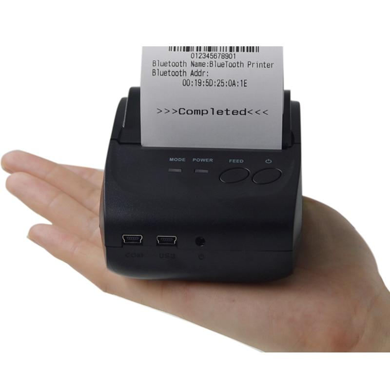 Pulsuz SDK Simsiz Android Bluetooth Termal Yazıcısı 58 mm Mini - Ofis elektronikası - Fotoqrafiya 5