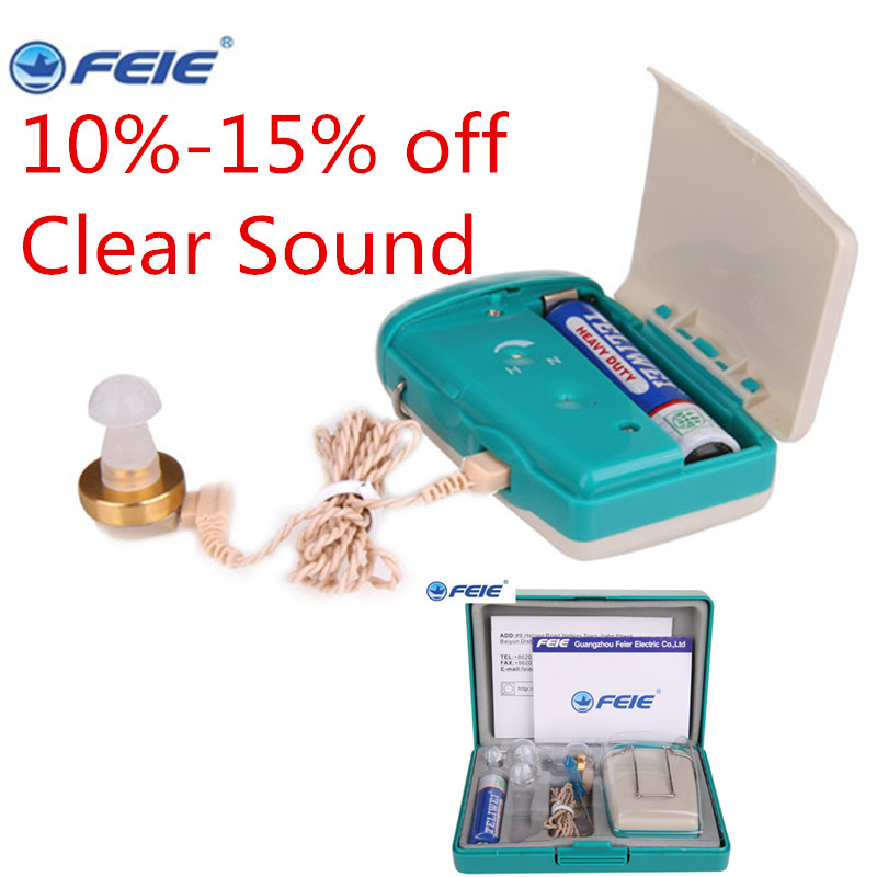 medical headphones Hearing Aids Paypal Wholesale Pocket Hearing Aid Amplifier S-93 headset deaf s Dropshipping