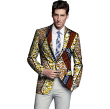Limited men dashiki suit thin african print blazer custom mens african suit africa clothing for wedding
