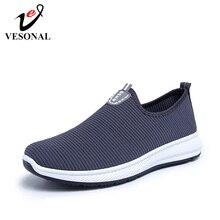 b9ff7205253 VESONAL 2019 Slip-On Lightweight Mesh Men Shoes Casual Breathable  Comfortable Walking Male Sneakers Tenis