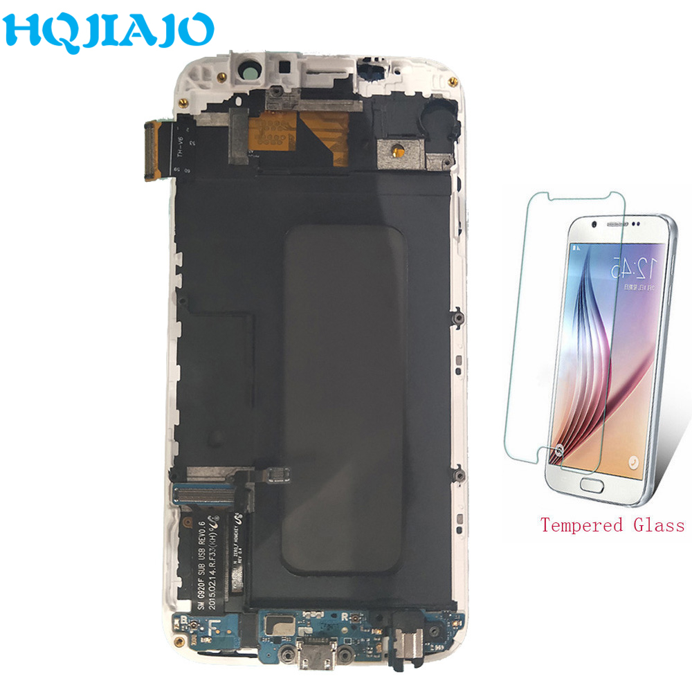 TFT LCD Screen For Samsung S6 G920F G920FD LCD Display Touch Screen Digitizer For Samsung Galaxy