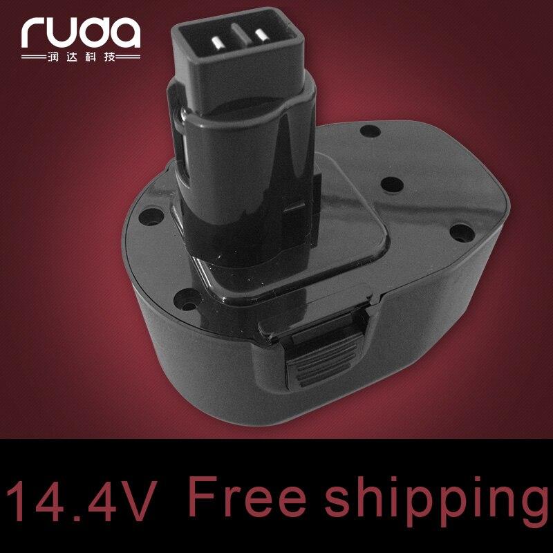 for Dewalt 14.4VA 1300mAh/1.3Ah power tool battery Ni CD DC9091 DE9038 DE9091 DE9092 DW9091 DW9094 DE9094