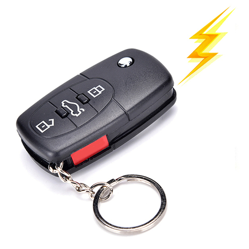 Practical Joke Car Toy Electric Shock Gag Car Remote Control Key Funny Trick Prank Toy Gifts Simulation Car Remote Control Toy
