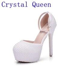 الكريستال ملكة أحذية عالية