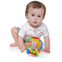 Baby Rattle Activity Ball Rattles Educational Toys For Babies Grasping Ball Puzzle Play Toys 0 12 Months climb Learning Gift