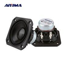 AIYIMA 2 шт. 2,5 дюйма полный диапазон динамик 4 8 Ом 15 Вт аудио динамик s звуковая колонка 25 ядер громкий динамик DIY домашний кинотеатр