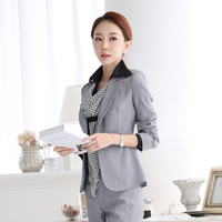 2015 Hitz OL Female Fashion Wear Women S Suit Business Suit Dress Uniforms Overalls Manager