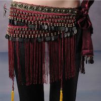 2015 Hot Selling Cheap Women Tribal Belly Dance Hip Scarves Belly Dancing Waist Belts On Sale