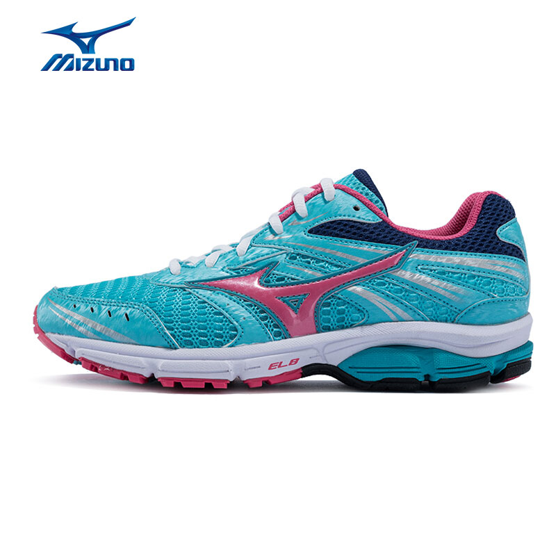MIZUNO Women's WAVE ZEST Running Shoes Breathable Cushioning Sports Shoes Light Sneakers J1GL159851 XYP513 цена