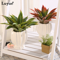 Luyue Official Store Luyue Artificial Succulent Plants Modern Style Drcorative Plant Home Decor Pack Of 1