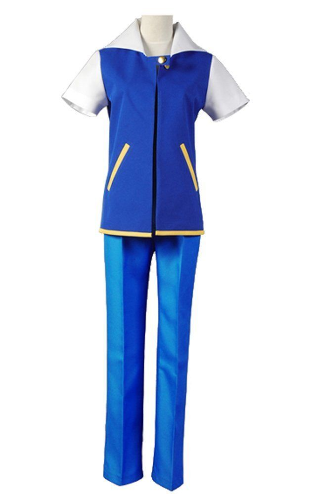 Pokemon GO Ash Ketchum Satoshi Season 1 Halloween Suit Outfit Sexy Costume Halloween Carnival Adult Men Women